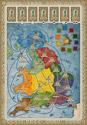 Rio Grande Games Concordia: Britania and Germania Expansion