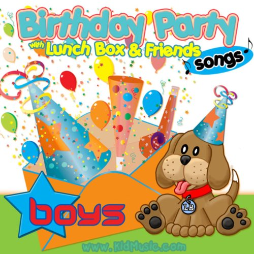 Birthday Party Songs For Boys With Lunchbox And His