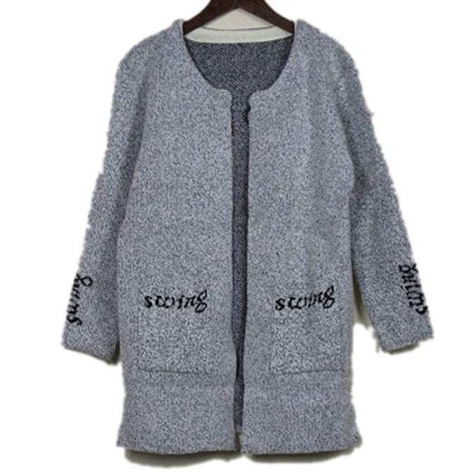 e511c409ddb Molif Autumn Winter Cardigan Women Sweater Open Stitch Pull Femme Long Knitted  Sweater Coat Style Eight