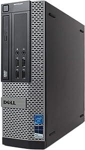 Dell Optiplex 9010 Desktop Computer- Intel Core i7 3.4GHz, 16GB DDR3, New 2TB SSD, Windows 10 Pro 64-Bit, WiFi, DVDRW (Renewed)