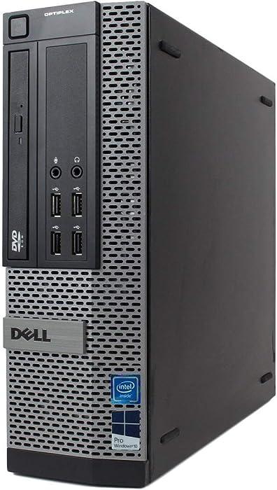 Dell Optiplex 990 SFF Desktop - Intel Core i5 3.1GHz, 16GB DDR3, New 1TB SSD, Windows 10 Pro 64-Bit, WiFi, DVDRW (Renewed)