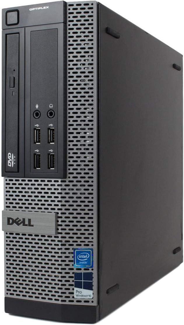 Dell Optiplex 7010 Desktop Computer - Intel Core i7 Up to 3.8GHz Max Turbo Frequency, 16GB DDR3, New 1TB SSD, Windows 10 Pro 64-Bit, WiFi, USB 3.0, DVDRW, 2X Display Port (Renewed) | Amazon