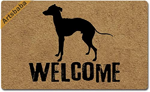 Imports Decor Half-round Rubber Back Coir Doormat, Sunrise, 18-Inch by 30-Inch