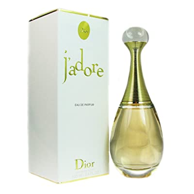Christian Dior J'adore for Women Eau De Parfum Spray, 3.4 Ounce