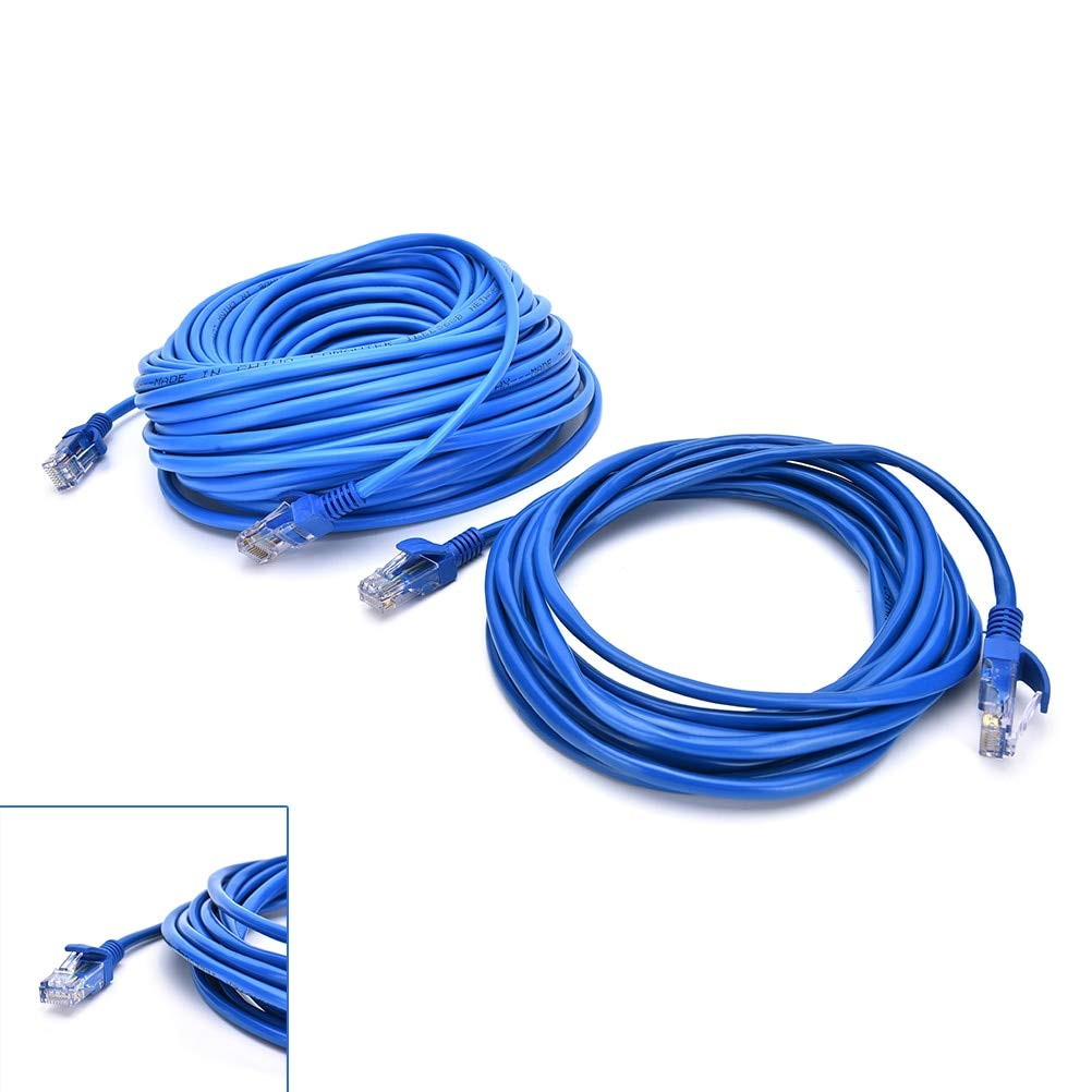 Computer Cables RJ45 Ethernet Cable 5M 10M for Cat5e Cat5 Internet Network Patch LAN Cable Cord for PC Computer Cable Length: 5m