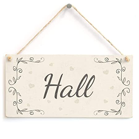 Lorenzo Hall Nombre de la Flor de Madera Placa Cartel de ...