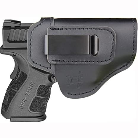 IWB Holster Fits: XD MOD 2 3″ 3 3″ SUB Compact Model 9mm  40sw  45ACP / XD  3″ / Xdm 3 8″ Compact and Full Size/XDS 3 3″ Single Stack/XDE 3 3″ - Inside