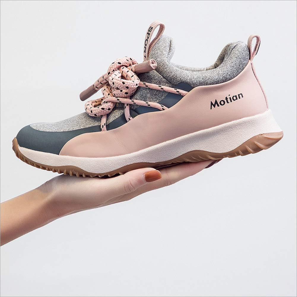 Color : A, Size : 35 MHC Womens Sneakers,Shock Absorption Breathable Trainers Shoes,Comfort Light Sport Shoes,Camping Park Spring Summer Fall