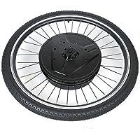 Kit de bicicleta eléctrica con interfaz de carga USB, interacción por aplicación, rueda delantera de 26 pulgadas, 36 V, 800 W