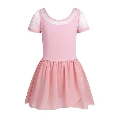Agoky Vestido Tutú de Ballet para Niña Maillot de Danza ...
