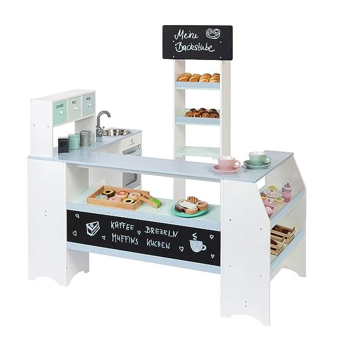 Musterkind Bäckerei - Musterkind Kaufladen Bäcker Grano Weiß-Blau