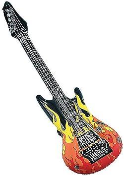 Horror-Shop Guitarra Flame Inflable: Amazon.es: Juguetes y juegos