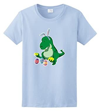 Funny easter gifts t rex easter bunny easter eggs ladies t shirt funny easter gifts t rex easter bunny easter eggs ladies t shirt small light negle Gallery