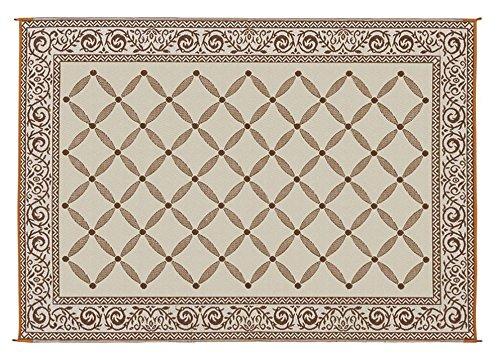 Reversible Mat Brown & Beige Patio Mat Item No:119127 (9' x 12')