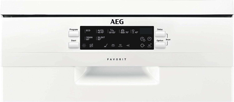 AEG FFB63400PW Independiente 9cubiertos A+++ lavavajilla ...
