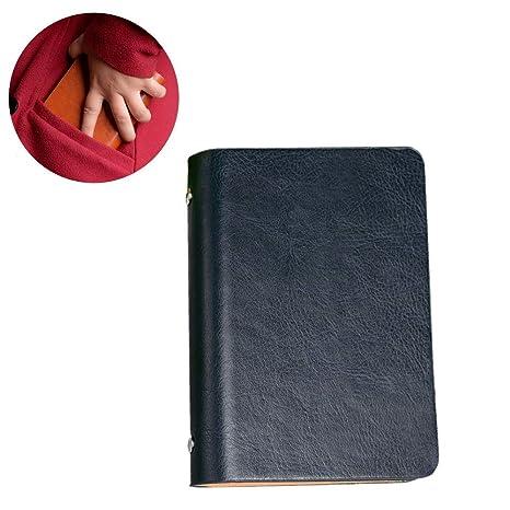 Amazon.com: Chris.W - Bloc de notas de bolsillo, recambio en ...