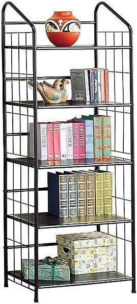 Coaster Home Furnishings 5-shelf Metal Bookcase