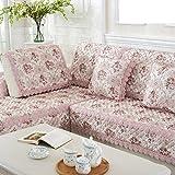HDVHXVHJWCXHXF Jacquard,Four Seasons,Anti-Skid Sofa Mat/Fabrics,Simple Modern,European Style,Solid Wood Sofa Sets/Cover A Full Towel-A 70x90cm(28x35inch)