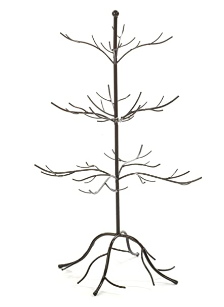 Amazoncom Small Metal Bare Tree Silhouette Rustic Ornament