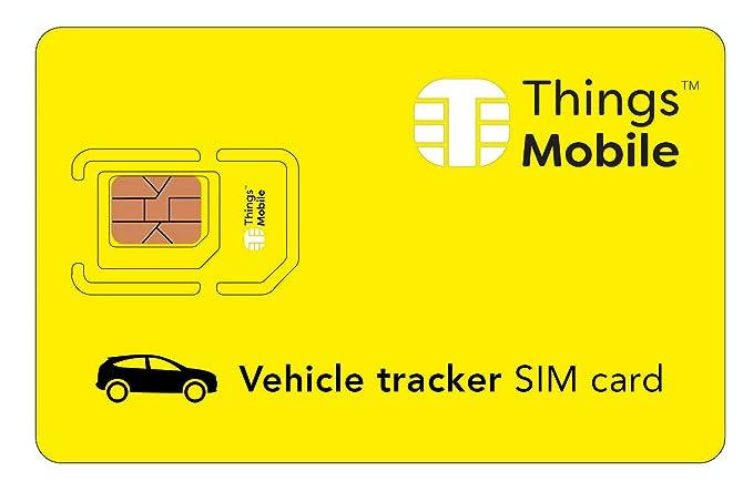 Amazon.com: Tarjeta SIM para rastreador de vehículos, con ...
