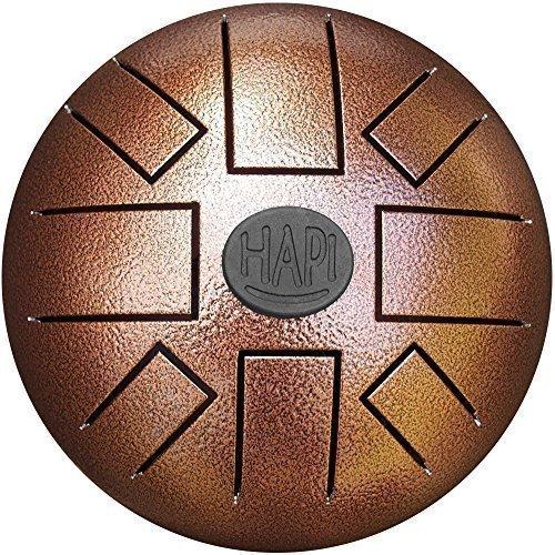 HAPI-Steel-Tongue-Drum-HDMINICMJ-Mini-C-Major-with-FREE-padded-travel-bag