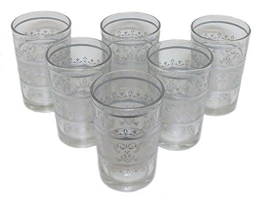 6 Orientalische Teeglaser Tunis Ii Argent Spulmaschinenfest