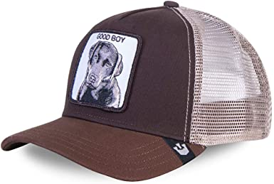 Gorra Goorin marrón Good Boy Perro Baseball Trucker Labrador ...