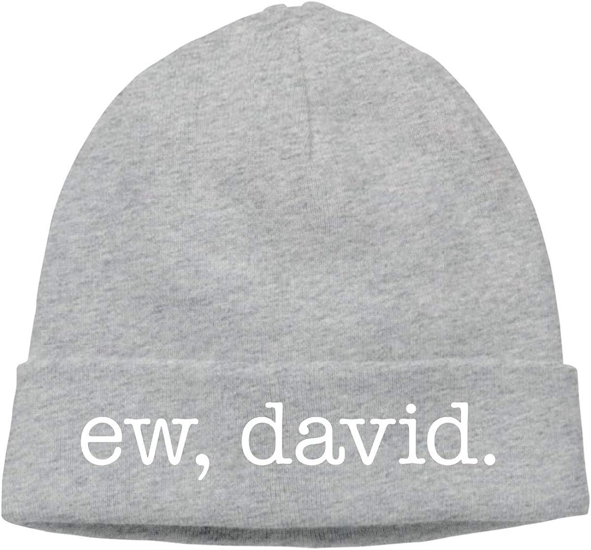 David Beanie Hat Knit Cap Winter Unisex Skully Hat TIANSHADEBIEGEN Ew