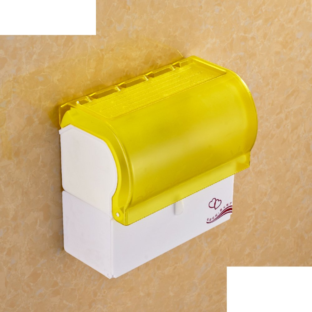 outlet bathroom tissue box/ plastic toilet paper box/Punch-free shower tray/ toilet tissue holder/ waterproof tray-F