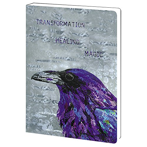 - Tree-Free Greetings Healing Raven Inspirational Soft Cover Journal, 5.5 x 7.5 Inches, 160 Lined Pages (JR89869)