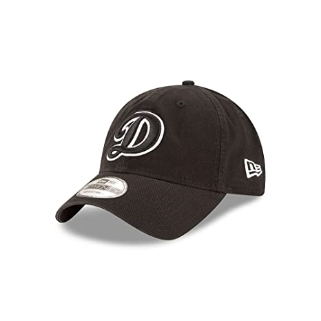 10f9f12762b Image Unavailable. Image not available for. Color  Los Angeles Dodgers Core  Classic Twill Black 9TWENTY Hat ...