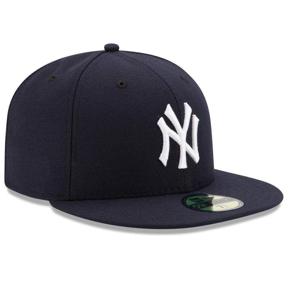 cd38daae5cd95 Amazon.com  New Era Mens New York Yankees MLB Authentic Collection 59FIFTY  Cap  Clothing