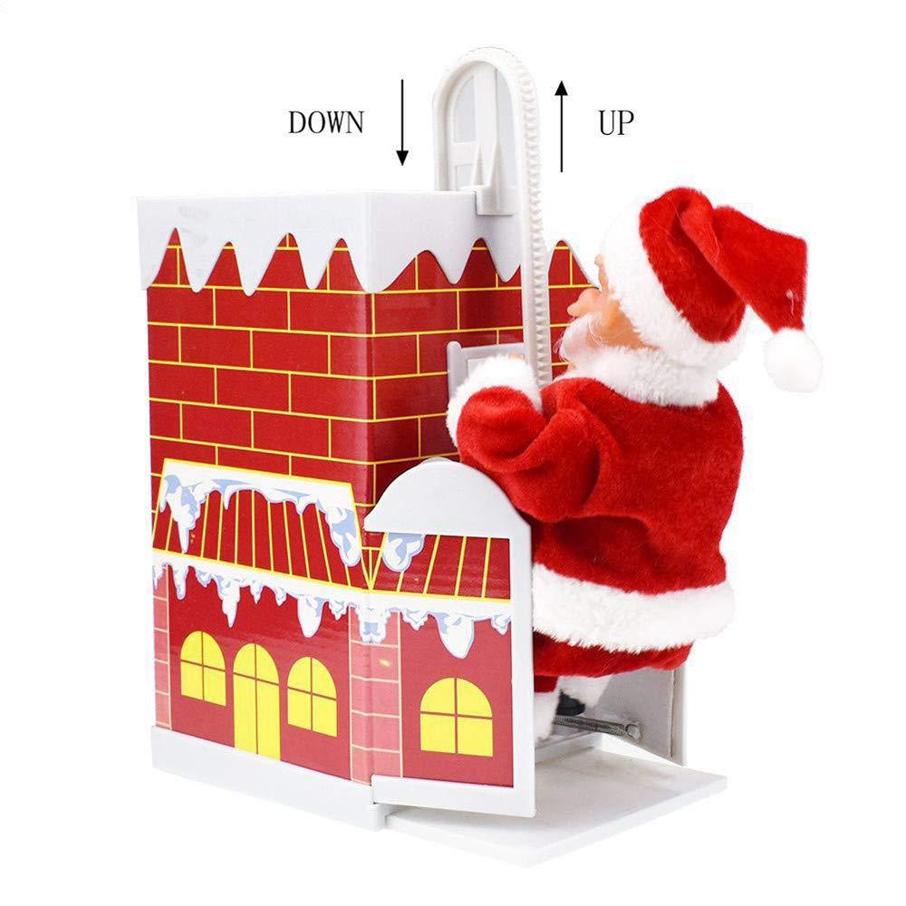 Happy Event batería Alimentado por Schöne Climbing Santa Claus ...