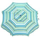 Snail 7 feet Vented Beach Umbrella with Tilt and...