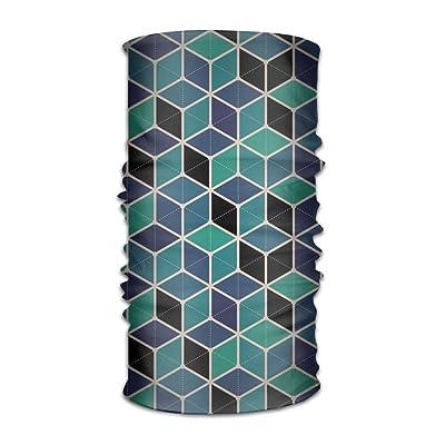 Floor Tile Pattern Funny Logo DIY Printed Headband Bandana Mask Sports Seamless Breathable Hair Band Turban For Workout, Fitness, Running, Cycling, Yoga