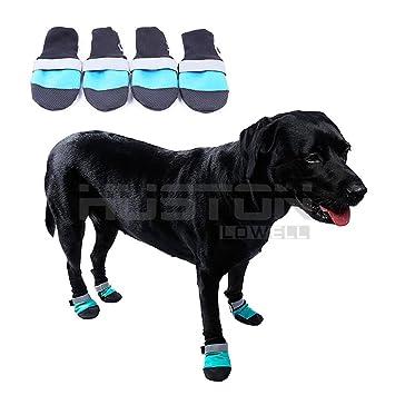 Aution House - 4 Pcs Antideslizante Impermeables Ligeros Zapatos de Perros  - Calidad Durable - Protector e7f880d2f0d