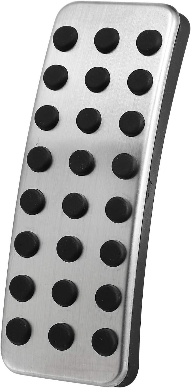 Nrpfell 1 Pedal de Plata de Coches Pastillas de Freno Acero Inoxidable Accesorios del Coche,?para Mercedes AMG a B Cla Gla ML GL R W176 W245 W246 W251 W164 W166 X164 X166 C177 X156 AT