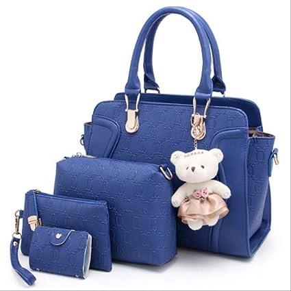 TNBKDSE Luxury Fashion 4 pezzi Set composito Borse donne