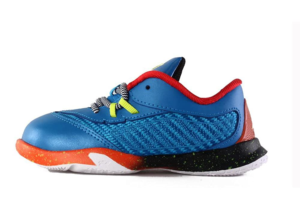 new style 00c33 be5f0 Amazon.com  Jordan 684885-470  Air Jordan CP 3 Retro VIII Toddler Sneakers  Blue Orange Black (4 M US Toddler, Photo Blue Electro Orange Black Cyber)   Shoes