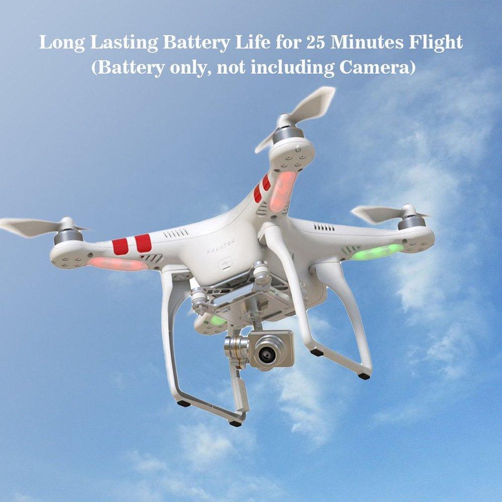 Dailyinshop Intelligenter Flug-Akku 5600mAh für DJI Phantom 2 für DJI Phantom 2 Vision + (Farbe: Beige)