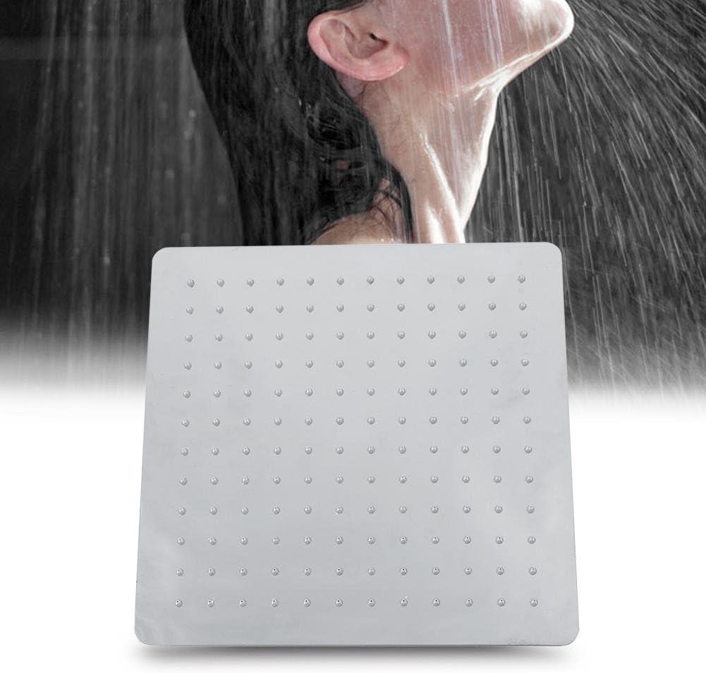 Pommeau de douche /à pluie mural//Ultrathin 30/x 30/cm style Luxe Durable pomme de douche pluie en acier inoxydable