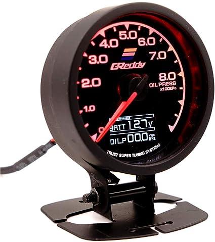 12V Modificación del coche Universal Instrument Racing Tacómetro ...