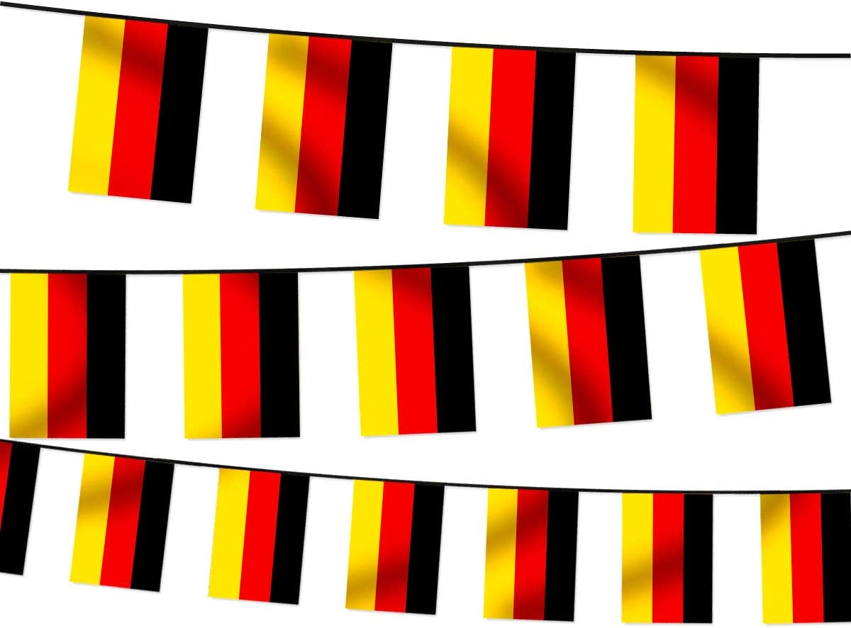 Alsino Wm Wimpelkette Fahnenkette 4 5 M Flaggenkette 32 Teilnehmerländer Fanartikel Wählen W De Wimpel Deutschland 4 50 M Garten