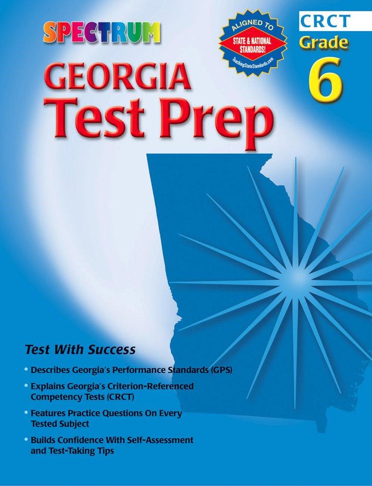 Spectrum Georgia Test Prep, Grade 6 (Spectrum State Specific) pdf epub