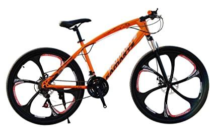 WILD WOLF BICYCLES Model: Python 6 Series (Orange)