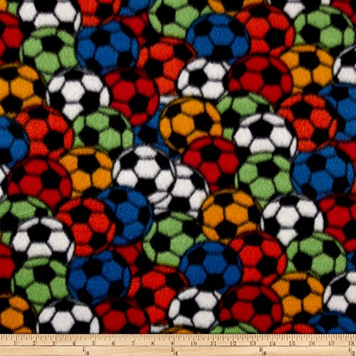 Polar Fleece Soccer Stadium Primary Fabric By The Yard