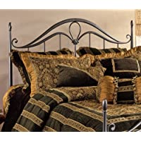 Hillsdale Furniture 1290HKR Kendall Headboard with Rails, King, Bronze