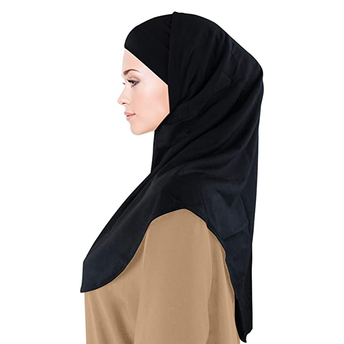 Two Piece Amira Hijab Adult size Cotton//Polyester Blend