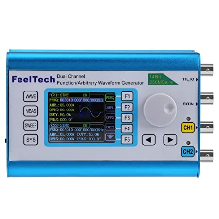 Digital DDS Dual-channel Signal Source Generator 60/50/40/30/25MHz