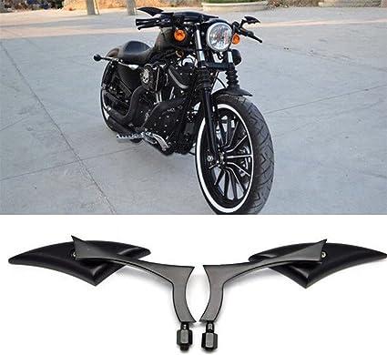 Performance 2X Black Aluminum Blade Spear Rearview Side Mirror For Motorcycle Cruiser Chopper Street Standard Bike Suzuki B-King NEW